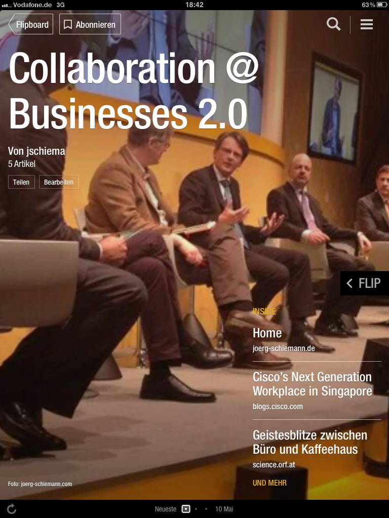 Collaboration @ Businesses 2.0
